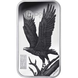 WEDGE TAILED EAGLE Aquila Cuneata Australian Apex Predators Moneta Argento 1$ Cook Islands 2016