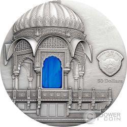 TIFFANY ART AMAR SAGAR Jain Tempio 1 Kg Kilo Moneta Argento 50$ Palau 2016