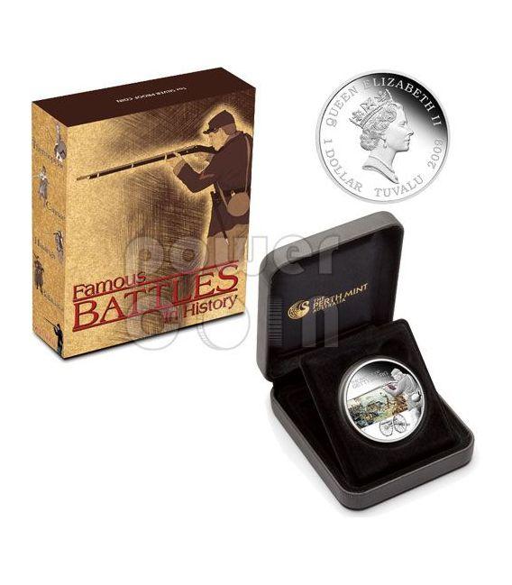 GETTYSBURG Battle 1863 Silber Münze 1$ Tuvalu 2009