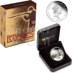GETTYSBURG Battle 1863 Серебро Монета 1$ Тувалу 2009