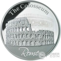COLOSSEUM Hologram Collection Rome Silber Münze 2$ Niue 2015
