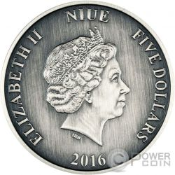 DAVID LIVINGSTONE Journeys Of Discovery 2 Oz Moneda Plata 5$ Niue 2016
