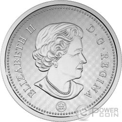 10 CENTS Bluenose Big 5 Oz Moneda Plata 10 Cent Canada 2016