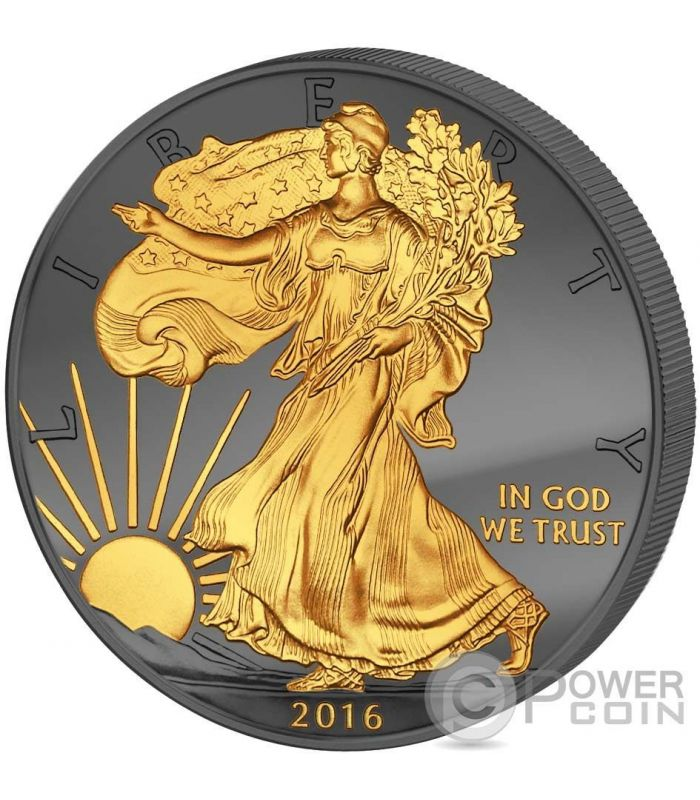 USA 2017 1$ Liberty Happy Thanksgiving Day 1Oz Silver Proof Coin