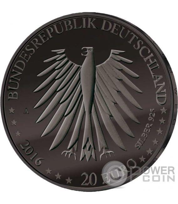 LITTLE RED RIDING HOOD Cappuccetto Rosso Golden Enigma Moneta Argento 20€ Euro Germania 2016