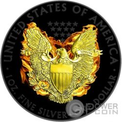 PHOENIX EAGLE American Walking Liberty 1 Oz Moneda Plata 1$ Dollar USA 2015