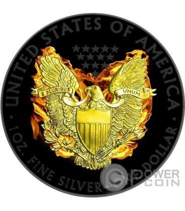 PHOENIX EAGLE American Walking Liberty Moneta Argento 1$ Dollar US Mint 2015