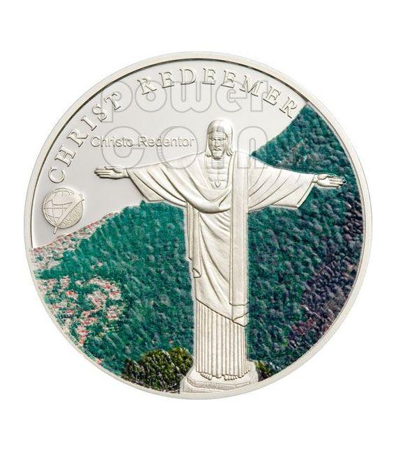 NEW SEVEN WONDERS Modern 7 Silber Münze Set 1$ Mongolia 2008