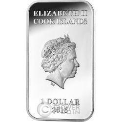 DINGO Australian Apex Predators 1 Oz Silber Münze 1$ Cook Islands 2016