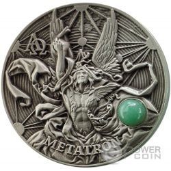 METATRON The Choir of Angels Coro Angeli 2 Oz Moneta Argento 5$ Niue 2016
