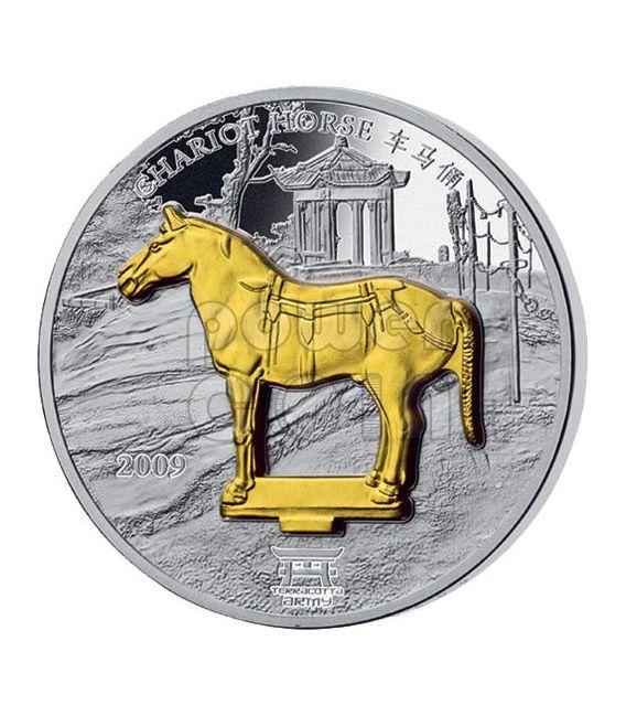 TERRACOTTA ARMY 4 Silver Coin Set China Emperor Xi An Laos 2009