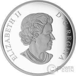 ENTERPRISE Spaceship Star Trek Moneda Plata 20$ Canada 2016