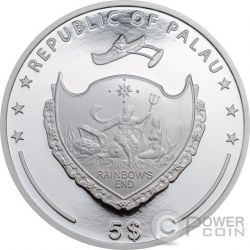 LIONFISH Red Sea Marine Life 1 Oz Silber Münze 5$ Palau 2016