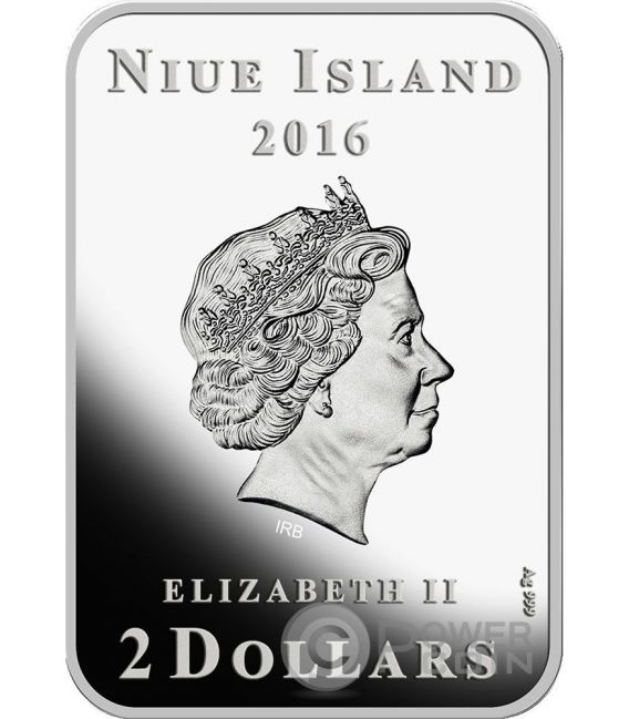 MILLENNIUM STAR The Beauty of Diamonds 1 Oz Moneda Plata 2$ Niue 2016