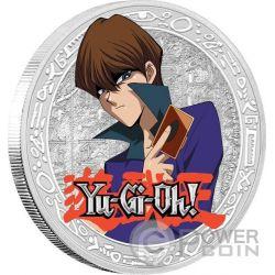 SETO KAIBA Yu Gi Oh 1 Oz Silber Münze 2$ Niue 2016