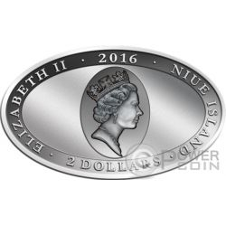 GREEN TREE PYTHON Lenticular Flip Eye Animal Skin 1 Oz Silver Coin 2$ Niue 2016