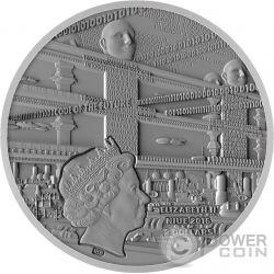 ARTIFICIAL INTELLIGENCE AI Code Of The Future 2 Oz Moneda Plata 2$ Niue 2016