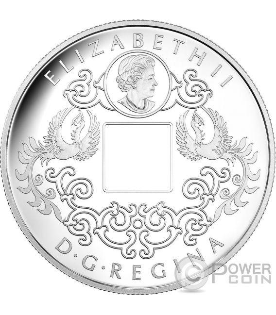 TIGER AND DRAGON Yin And Yang Silver Coin 8$ Canada 2016