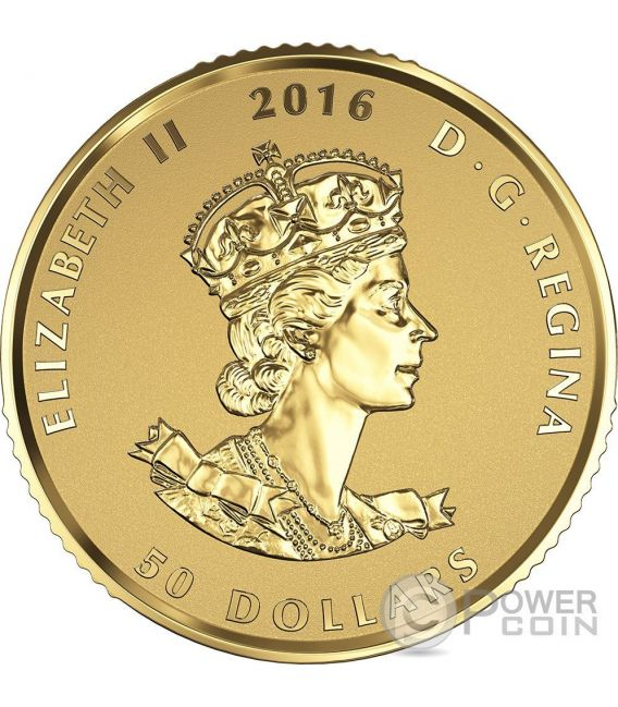 Maple Leaf Premium Queen Elizabeth Set 4 Gold Coin Canada