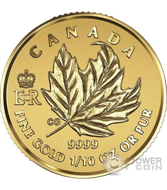 MAPLE LEAF PREMIUM Queen Elizabeth Set 4 Gold Coin Canada 2016
