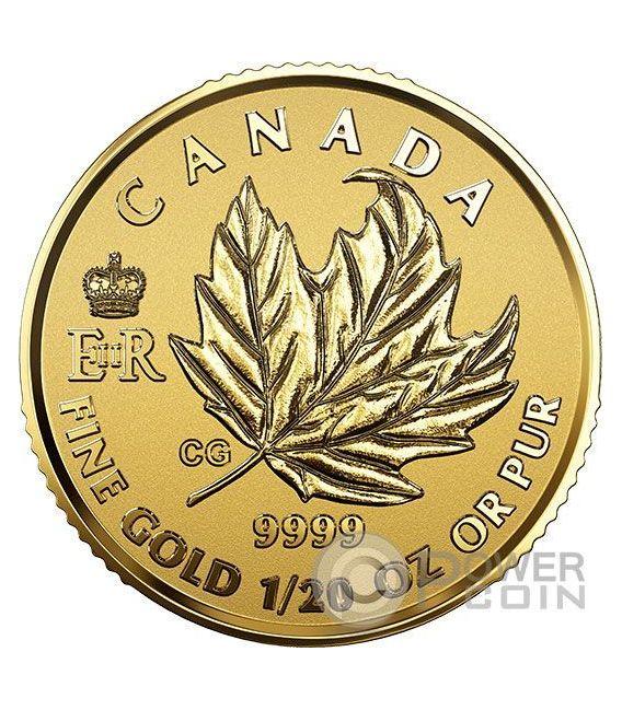 MAPLE LEAF PREMIUM Queen Elizabeth Set 4 Moneda Oro Canada 2016