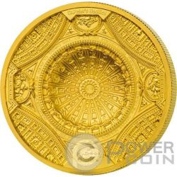 ST PETERS BASILICA 4 Layer Gold Coin 100$ Cook Islands 2016