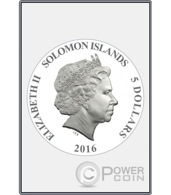 OPUS MAGNIFICUM Raphael Stanza della Segnatura Set 8 Moneda Plata 5$ Solomon Islands 2016