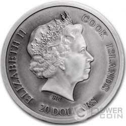 ST PETERS BASILICA 4 Layer Silber Münze 20$ Cook Islands 2016