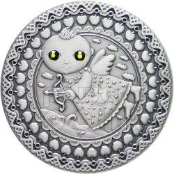 SAGITTARIUS Horoscope Zodiac Swarovski Silber Münze Belarus 2009