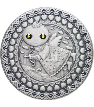 SAGITTARIO Oroscopo Zodiaco Swarovski Moneta Argento Bielorussia 2009