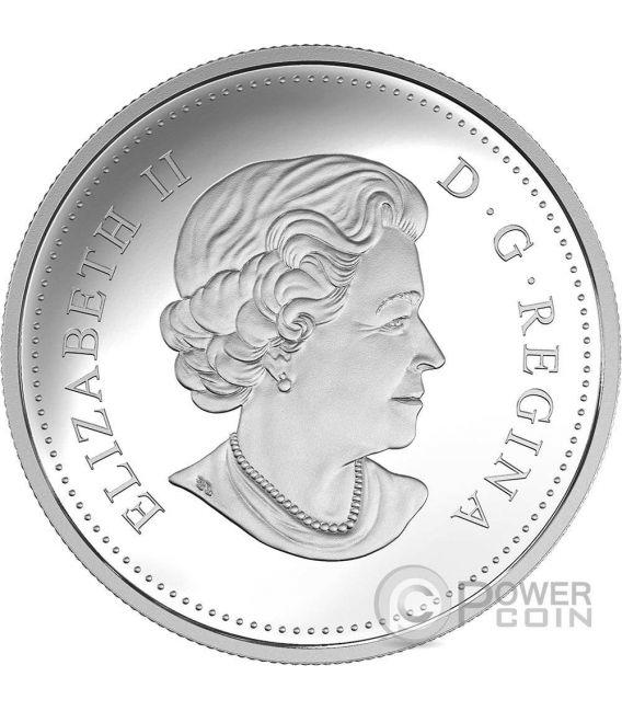 SALMON Landscape Illusion Moneda Plata 20$ Canada 2016