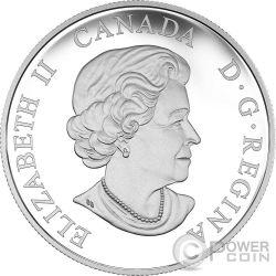 BARONIAL BALD EAGLE Majestic Animal Silber Münze 20$ Canada 2016