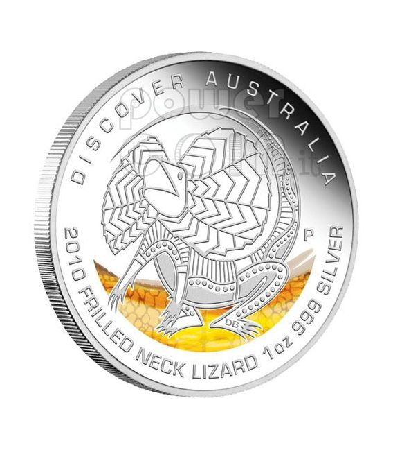 DISCOVER AUSTRALIA Dreaming Coin Set 5 Silver coins 1$ 2010
