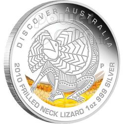 DISCOVER AUSTRALIA Dreaming Münze Set 5 Silber coins 1$ 2010