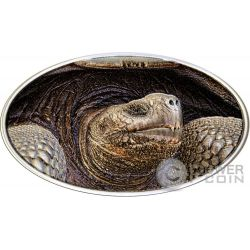 LONESOME GEORGE Tortois Animal Skin 1 Oz Moneda Plata 2$ Niue 2015