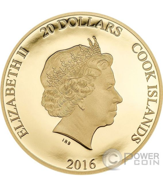 BREXIT United Kingdom 23rd June Out Of European Union Gold Coin 20$ Cook Islands 2016