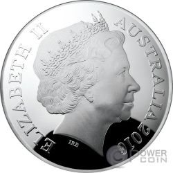 URSA MAJOR CONSTELLATION Northern Sky Curved Domed Серебро Монета 5$ Австралия 2016