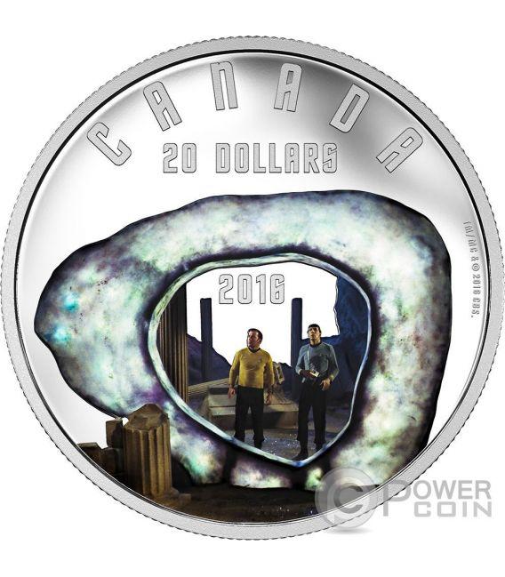 THE CITY ON THE EDGE OF FOREVER Star Trek Moneda Plata 20$ Canada 2016
