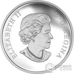 SPOCK Star Trek Moneda Plata 10$ Canada 2016
