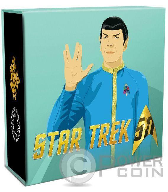 SPOCK Star Trek Silver Coin 10$ Canada 2016