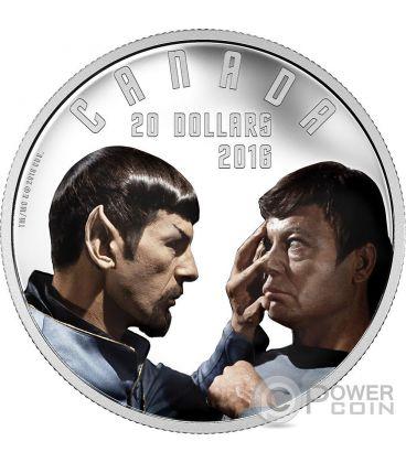 MIRROR MIRROR Star Trek Silver Coin 20$ Canada 2016
