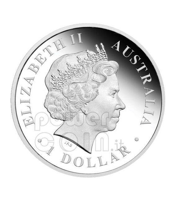 DISCOVER AUSTRALIA Dreaming Set 5 Monete Argento 1$ 2010