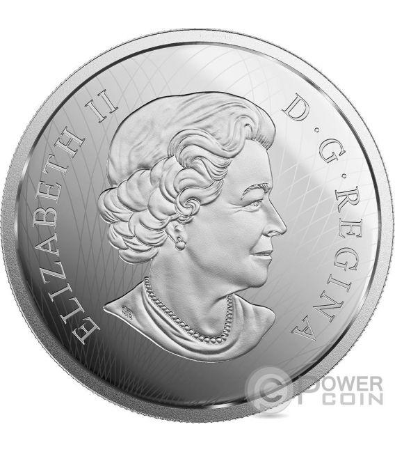 WANDUTA PORTRAIT OF A CHIEF Red Arrow Sioux Dakota Moneda Plata 50$ Canada 2016
