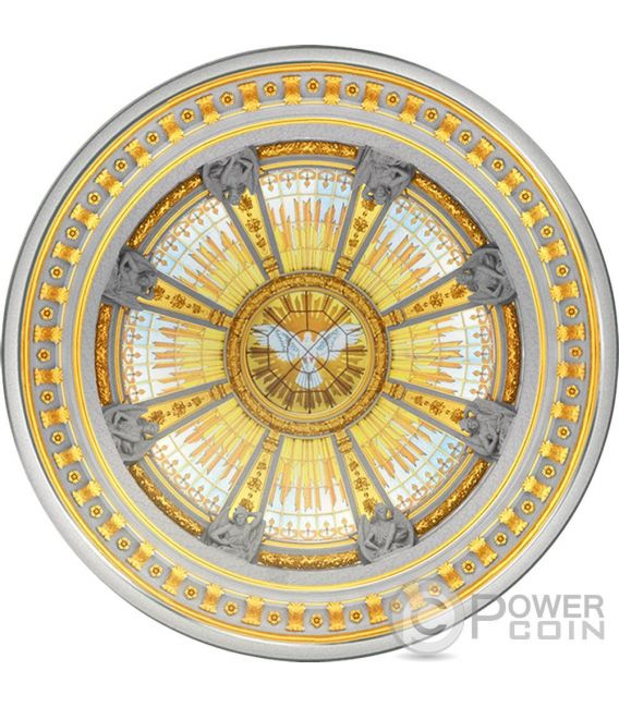 BERLIN DOM Cathedral Concave Dome 3 Oz Moneda Plata 10$ Solomon Islands 2016