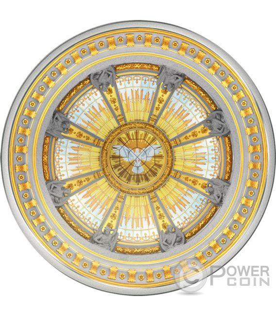 BERLIN DOM Cattedrale Berlino Concava 3 Oz Moneta Argento 10$ Solomon Islands 2016