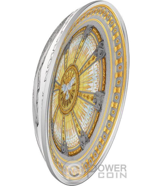 BERLIN DOM Cathedral Concave Dome 3 Oz Silver Coin 10$ Solomon Islands 2016