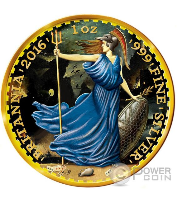 OUNCE OF ART Britannia Libertad Walking Liberty Hieronymus Bosch Set 3 x 1 oz Silber Münze United Kingdom Mexico US Mint 2016
