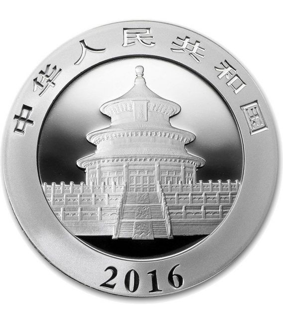 CHINESE PANDA MONKEY Lunar Moneda Plata 10 Yuan China 2016