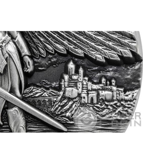 VALKYRIE Legends of Asgard Max Relief 3 Oz Silber Münze 10$ Tokelau 2016