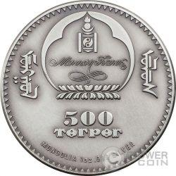 TRILOBITE Evolution of Life Ordovician Period Moneda Plata 500 Togrog Mongolia 2016
